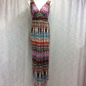 New Directions multicolored dress Size S